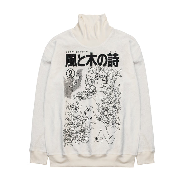 KAZE TO KI NO UTA TURTULE NECK LIGHT SWEATER
