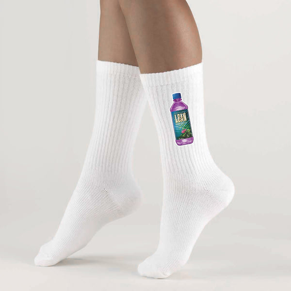 LEAN WATER SOCKS WHITE - MJN ORIGINALS