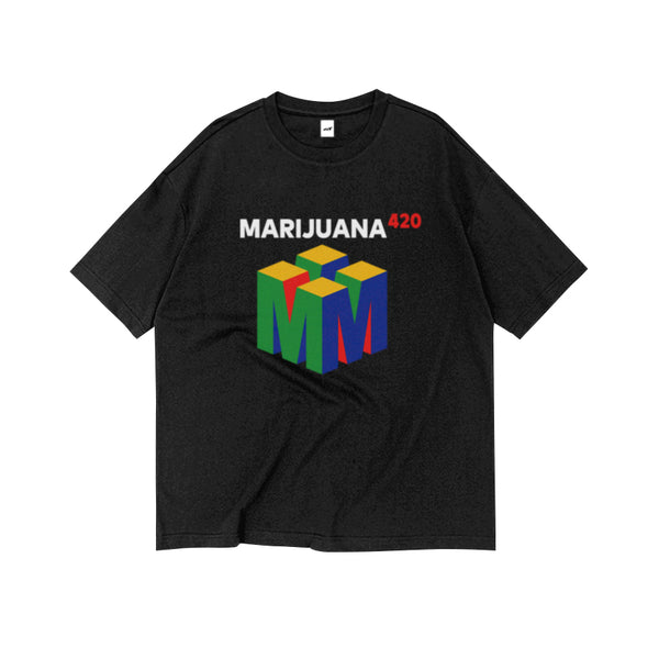 MARIJUANA420 TEE (CLICK FOR 2 COLORS) - MJN ORIGINALS