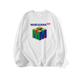 MARIJUANA LONG SLEEVE T-SHIRT (CLICK FOR 2 COLORS) - MJN ORIGINALS