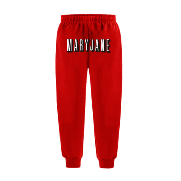 MARYJANE SWEATPANTS RED - MJN ORIGINALS