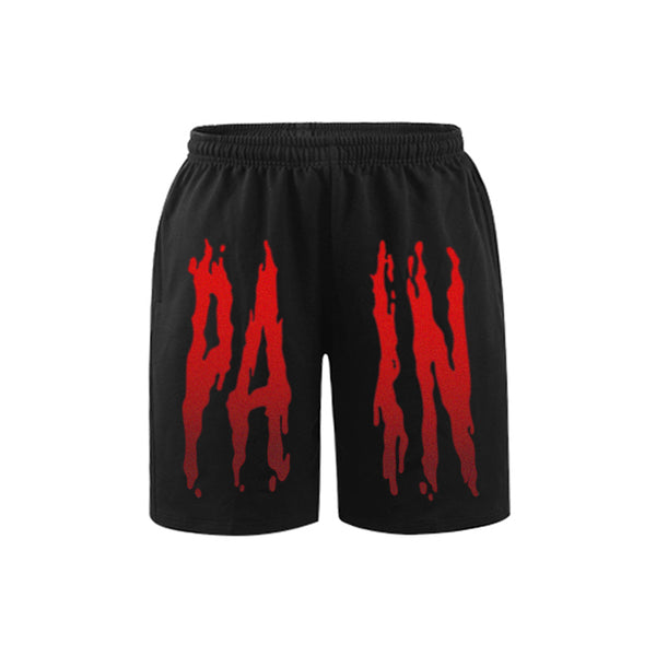 PAIN SWEATSHORTS - MJN ORIGINALS