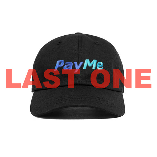 PAY ME HAT BLACK