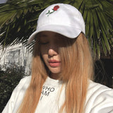 THE ROSE HAT WHITE - MJN ORIGINALS