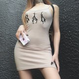 SAD DRESS BEIGE - MJN ORIGINALS