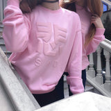 SAD SWEATSHIRT PINK - MJN ORIGINALS