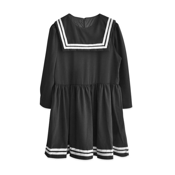 JAPAN SAILOR DRESS BLACK