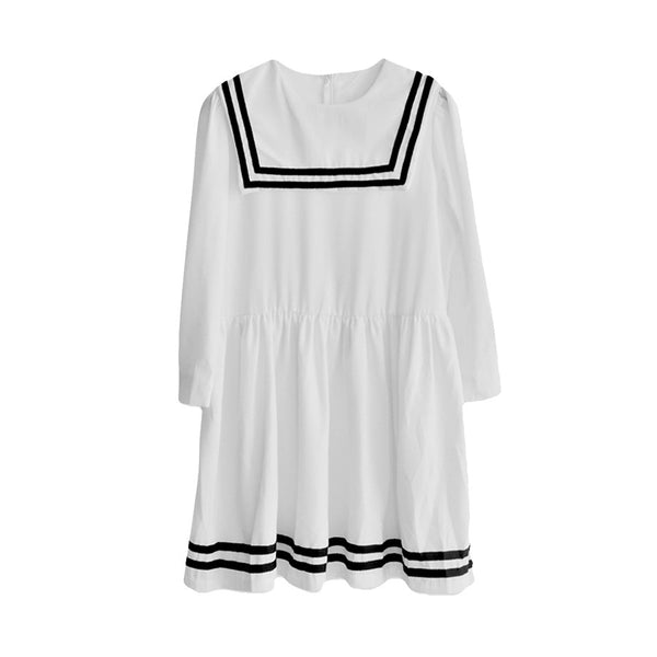 JAPAN SAILOR DRESS WHITE