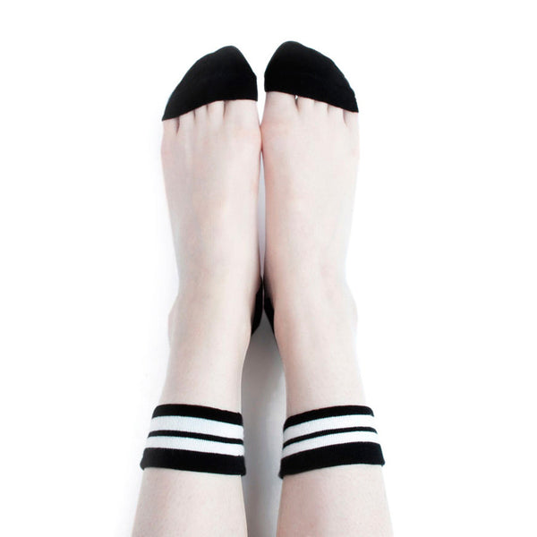 SHEER PATTERNED SPORT SOCKS (CLICK FOR 3 COLORS)
