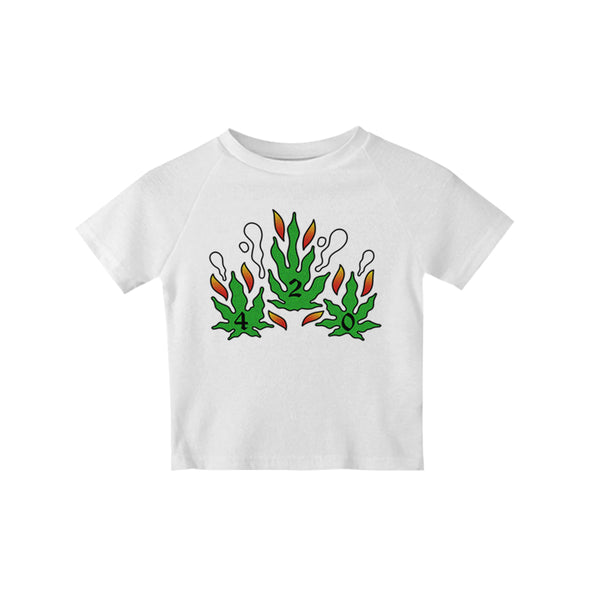 SMOKE 420 CROP TEE - MJN ORIGINALS