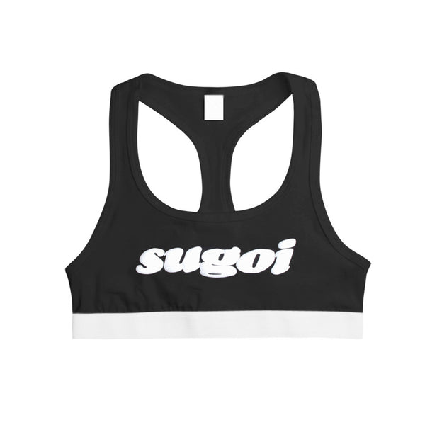 SUGOI SPORTS BRA BLACK - MJN ORIGINALS