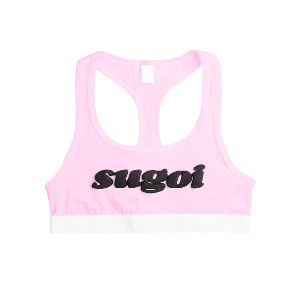 SUGOI SPORTS BRA PINK - MJN ORIGINALS
