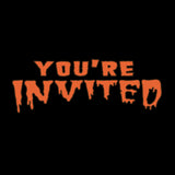 YOU'RE INVITED THONG - MJN HALLOWEEN