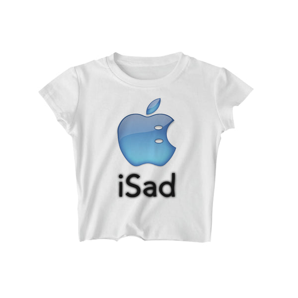 iSad CROPPED TEE - MJN ORIGINALS