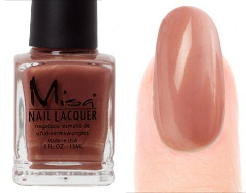 Misa Nail Polish 08: Brown Mica