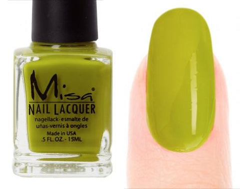 Misa Nail Polish 133: Green With Envy