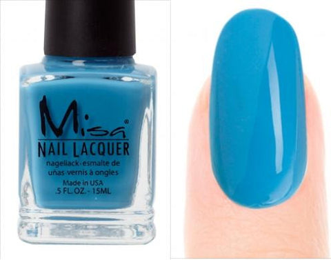 Misa Nail Polish 134: Blue Over A Boy