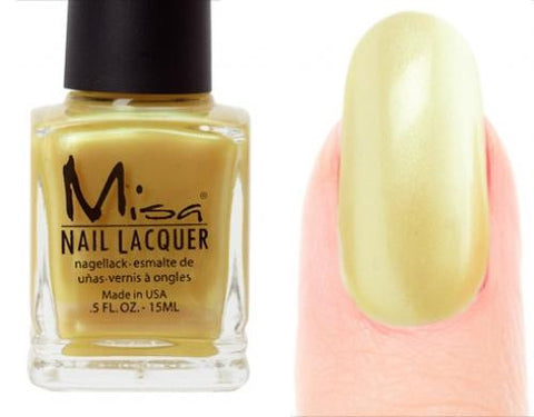 Misa Nail Polish 138: Golden Tan