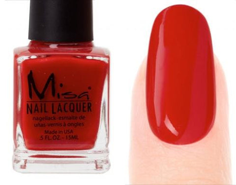 Misa Nail Polish 145: Red Hot Mama