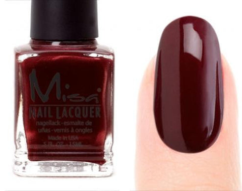 Misa Nail Polish 67: Wine Burgundy
