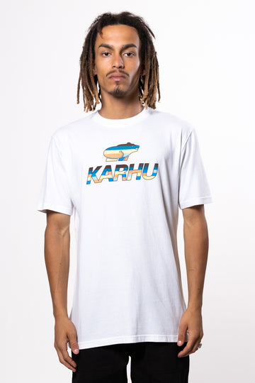 KARHU Team College Tee White Multi2 | HAVN