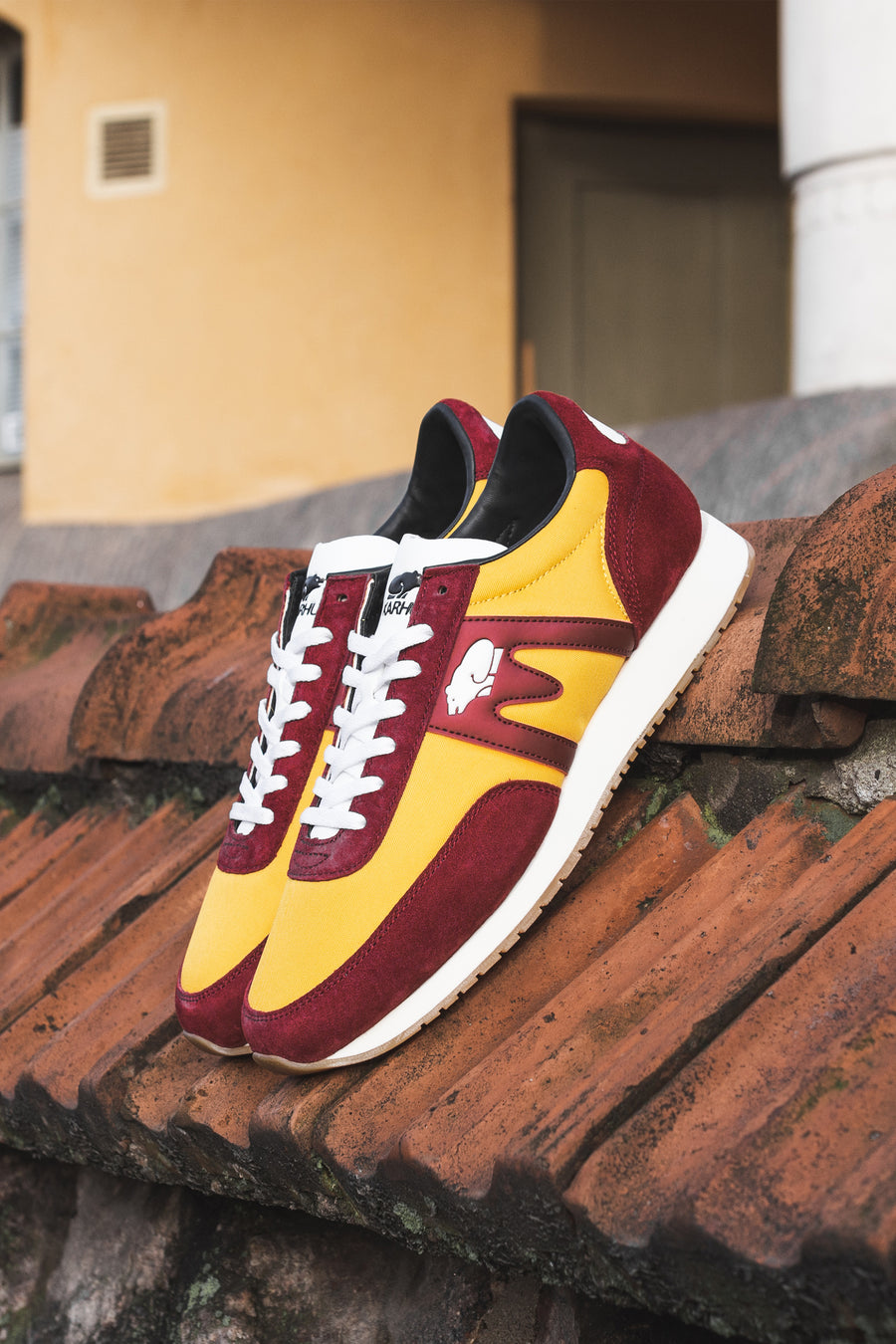 KARHU Albatross Biking Red/Golden Rod | HAVN