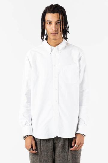 B.D Regular Shirt White Oxford
