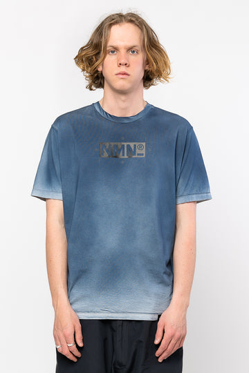 Craze T-Shirt Light Grey/Indigo Blue