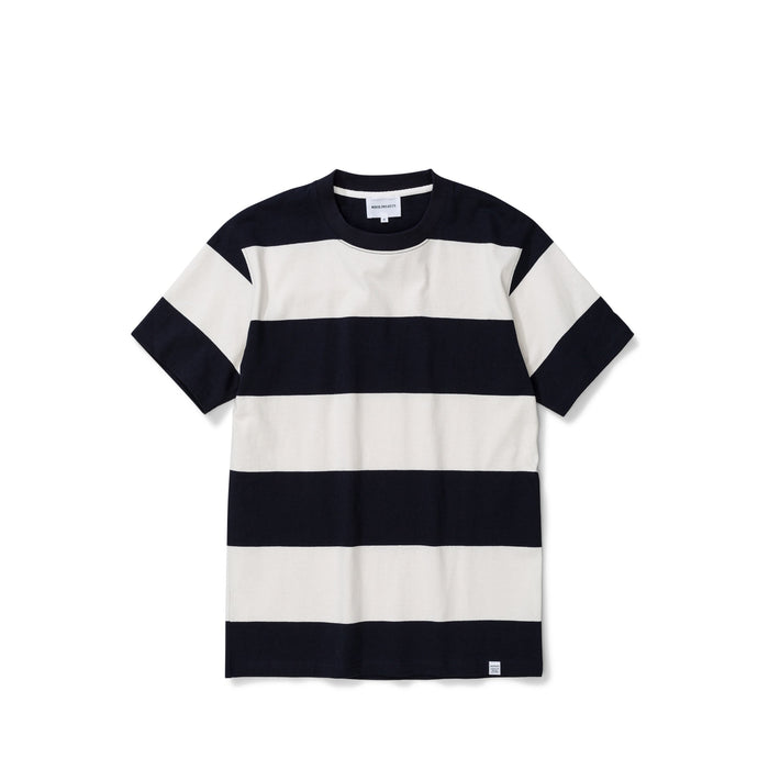 NORSE PROJECTS Johannes Border Stripe Dark Navy | H A V N