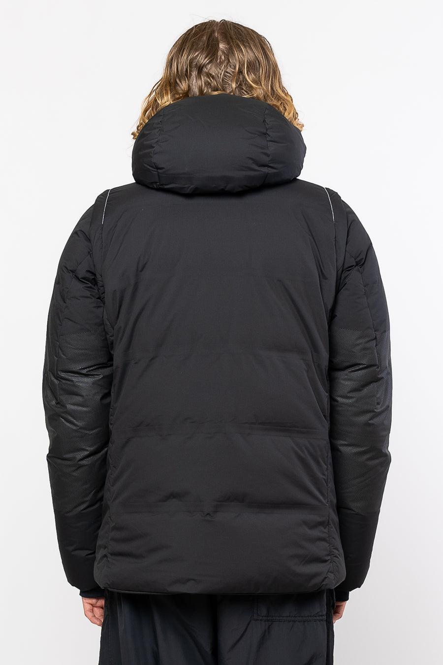 AND WANDER Heather Rip Down Jacket Black | HAVN