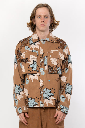 STORY MFG Helix Jacket Bark MFG Camo | HAVN