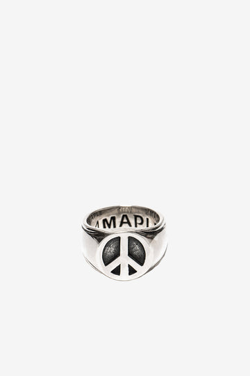 MAPLE Peace Ring Silver 925 | HAVN