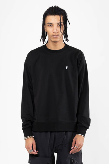 Mw 01 Outline G Fit Crew Black