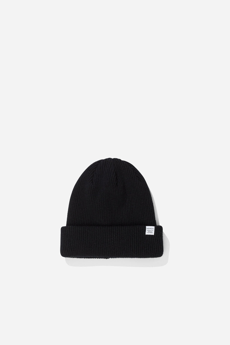 NORSE PROJECTS Norse Beanie Black | HAVN
