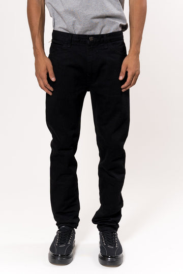 orSlow C100 Super Slim Black Jeans