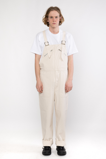 Serge Overall French Ecru