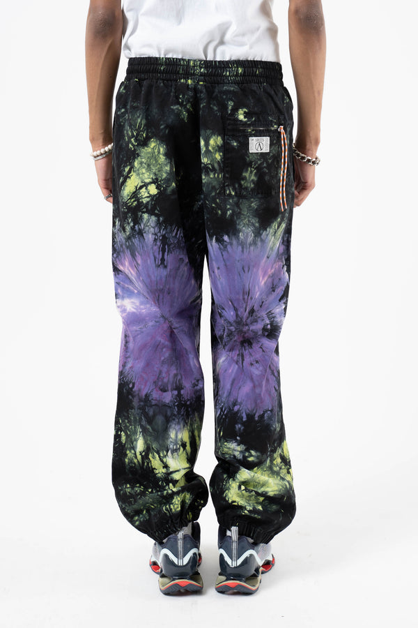 Cotton Tie-Dyed Track Pant