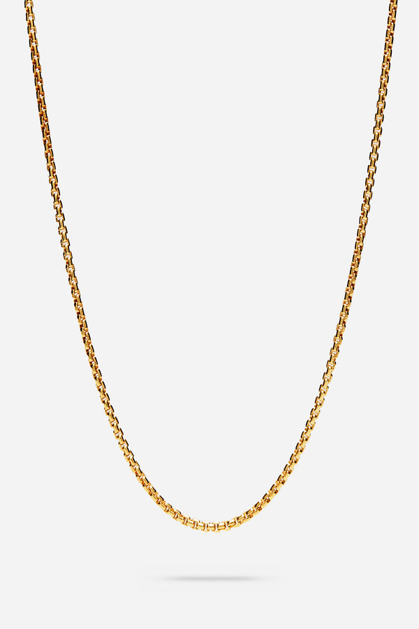 Venetian Chain Single M Gold