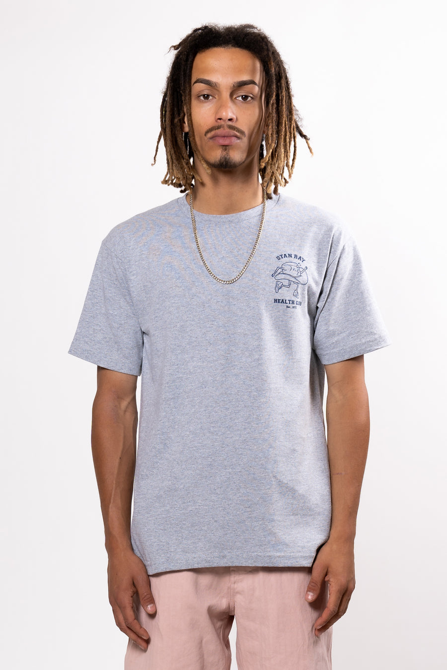STAN RAY Health Club Tee Grey Marle | HAVN