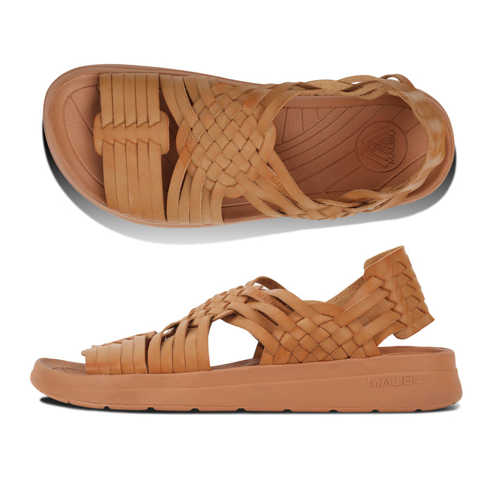 Malibu Canyon Vegan Leather/EVA Tan/Tan