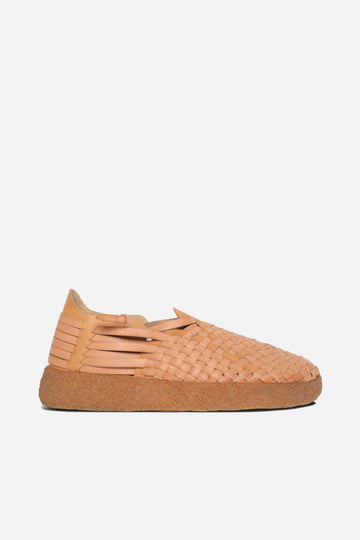 Malibu Latigo Crepe Vegan Leather Tan/Tan