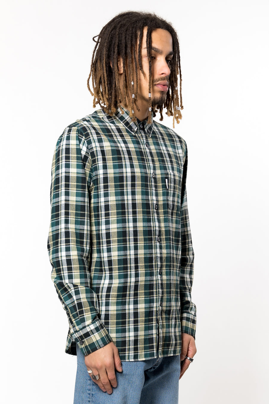 PENFIELD Barrhead Check Shirt Green | HAVN