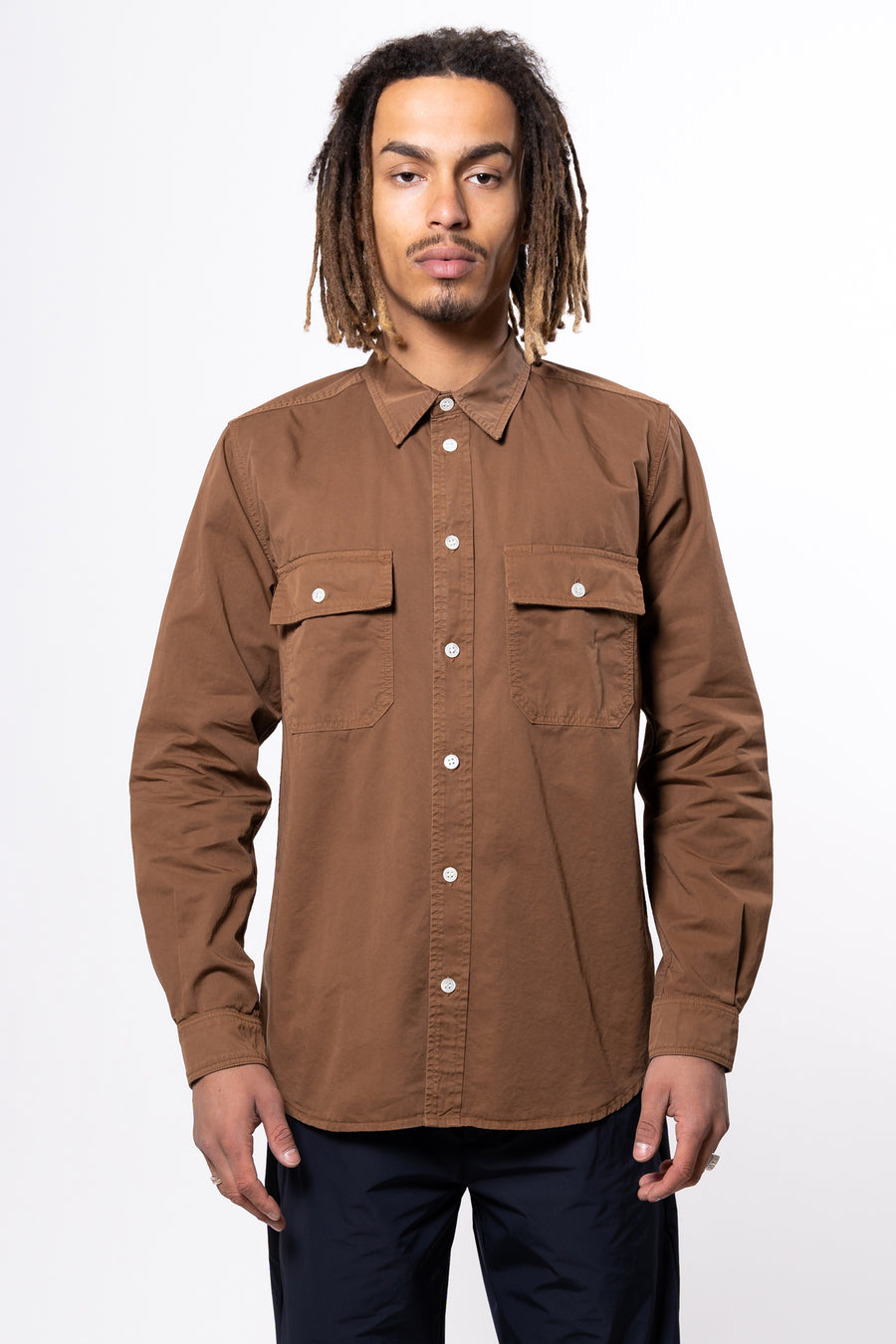 Villads Light Twill Shirt Duck