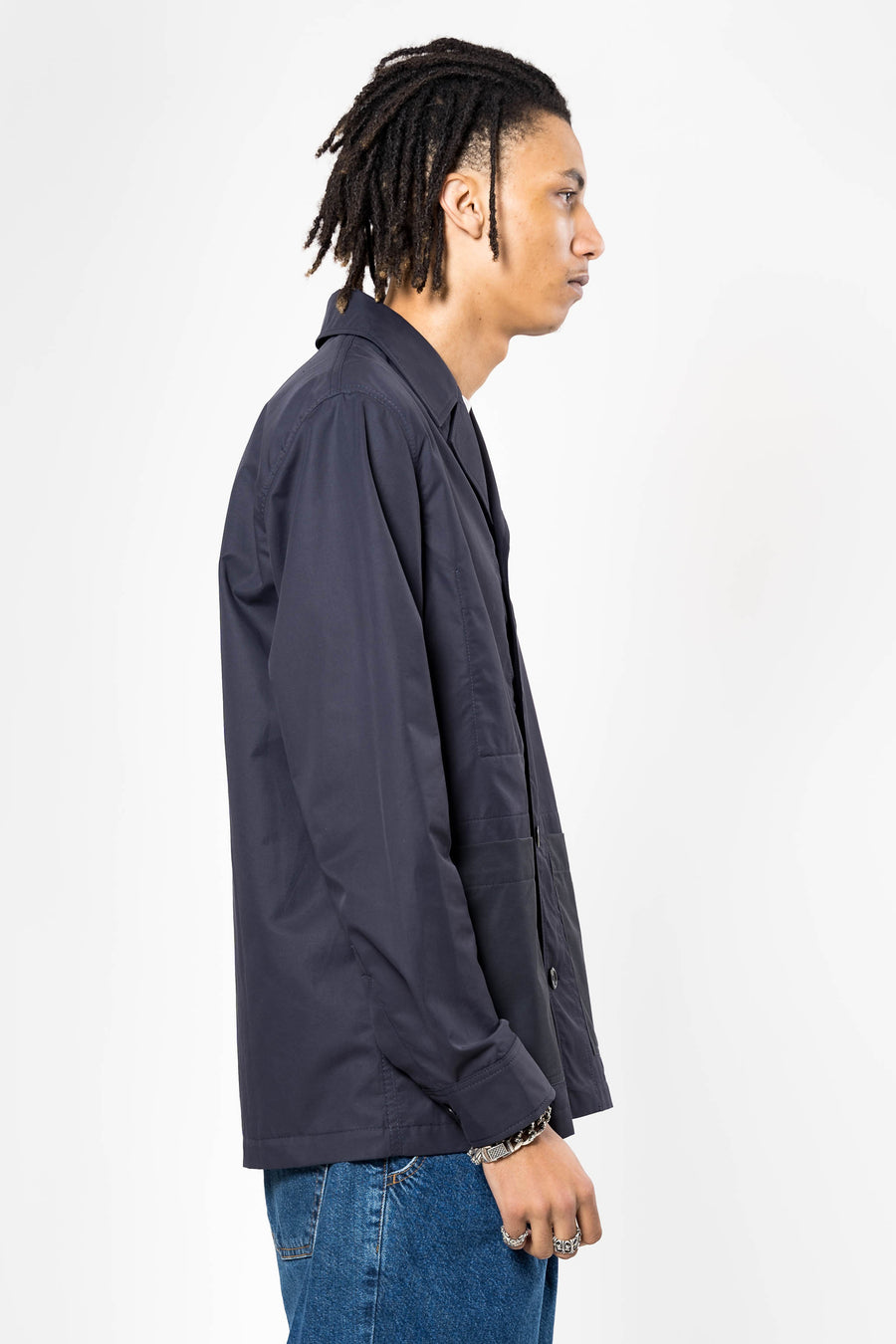 NORSE PROJECTS Mads 60/40 Cotton Nylon Dark Navy | HAVN