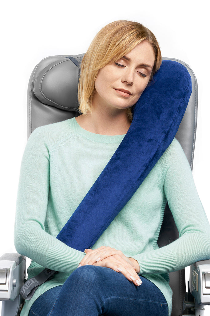 All In One Ultimate 174 Travel Pillow Navy Travelrest