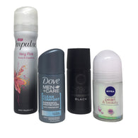 Travel Size Deodorant and Body Spray