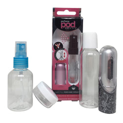 Travel Bottles and Atomisers