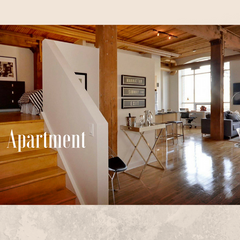 Where to stay when travelling: Apartment