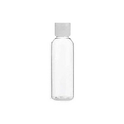 Refillable Travel Size Bottle flip top 75ml - Travel Toiletries 2 Go