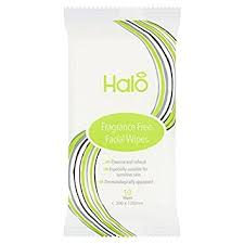 Halo Facial Travel Wipes 10 - Travel Toiletries 2 Go